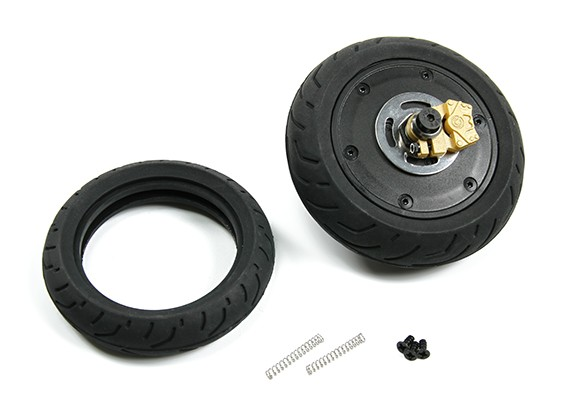 BSR 1000R Spare Part - Rear Wheel Unit with Gyro