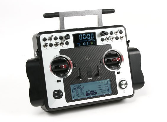FrSky 2.4GHz Taranis X9E Digital Telemetry Radio System EU Version Mode 2 (UK Plug)
