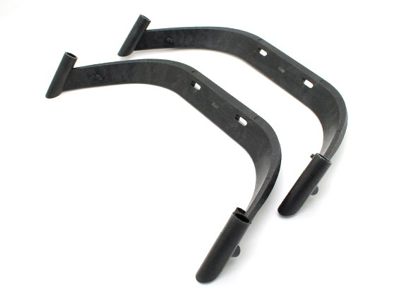TZ-V2 Landing Skid Replacement Leg Set (Black)