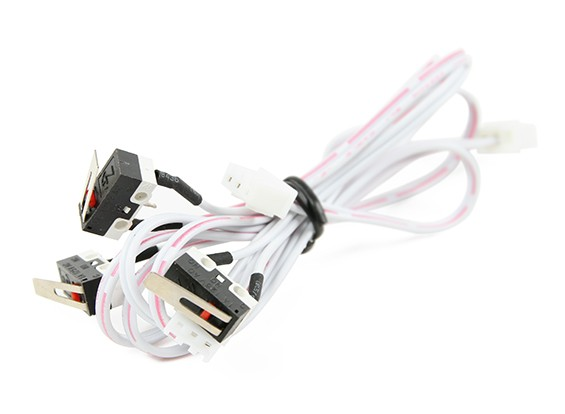 Turnigy Mini Fabrikator 3D Printer v1.0 Spare Parts – End Switch (set of 3)
