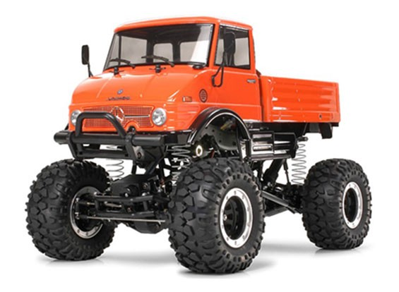 Tamiya 1/10 Scale Mercedes-Benz Unimog 406 U900/CR01 Series Kit 58414