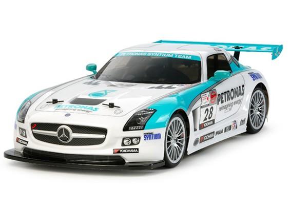 Tamiya 1 10 mercedes benz sls amg gt3 w ta06 chassis kit 58561 for Mercedes benz sls amg gt3 price