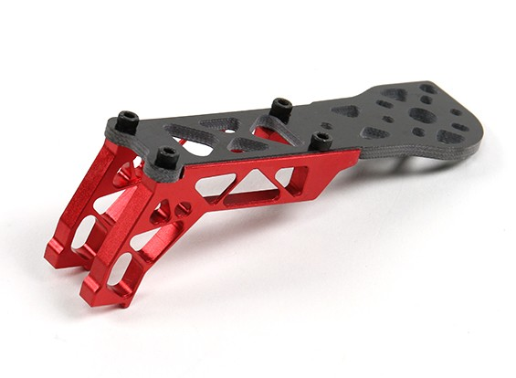 E-Turbine TB-250 Racing Quad - Spare Part - Arm and Anodised Bracket