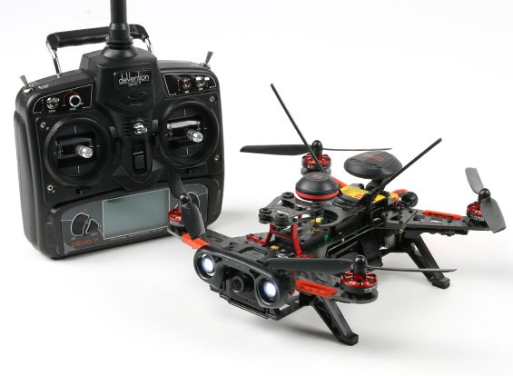 Walkera Runner 250R RTF GPS FPV Racing Drone w/Mode 2 Devo 7/Battery/Camera/VTX/OSD
