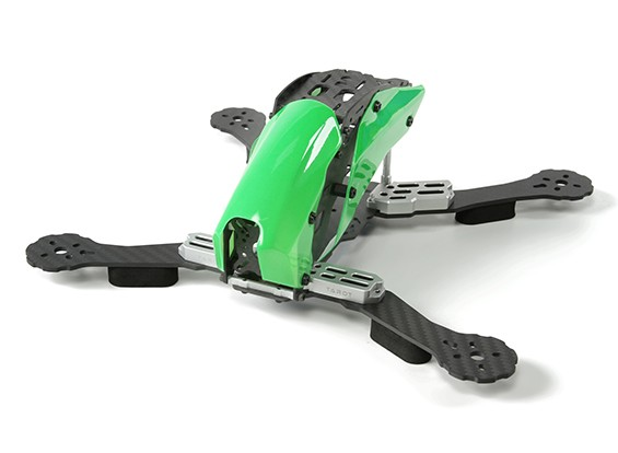 Tarot TL280C Space Through Machine FPV Full Carbon Fiber (Green) Frame Only