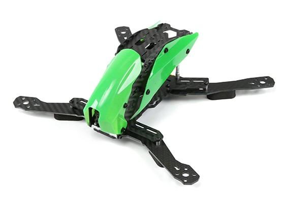 Tarot TL280H Space Through Machine FPV Half Carbon Fiber (Green) Frame Only