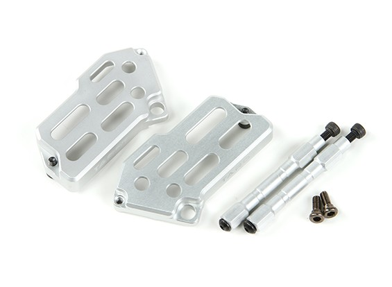 Tarot CNC Aluminum ESC Covers Back for TL250 and TL280 Carbon Fiber Multi-rotors
