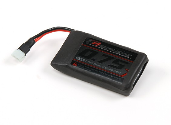 Turnigy Graphene 750mAh 1S Lipo Pack w/ 2pin Molex Connector
