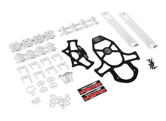 ImmersionRC - Vortex 285 Crash Kit 1, Plastic Parts - White