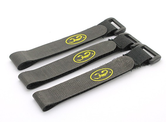 Scorpion Locking Velcro Battery Strap Set