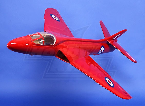 Hawker Hunter 90mm EDF Composite 950mm (ARF)