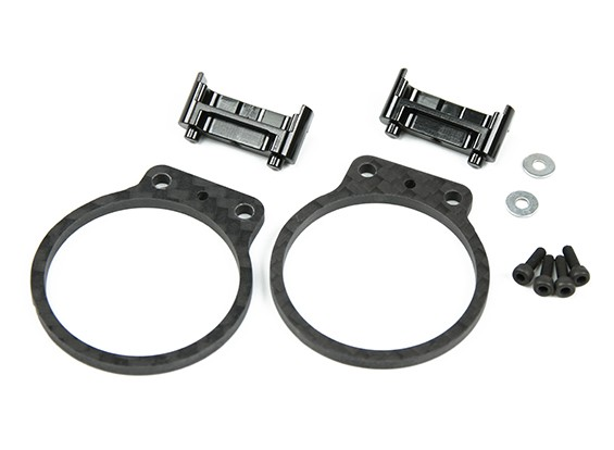 Tarot Motor Protection Set for TL280 Carbon Fiber (Black)