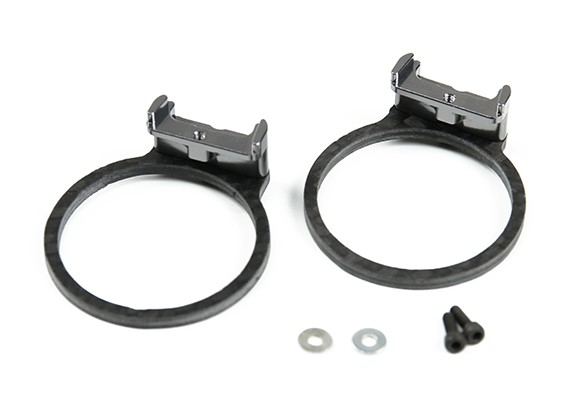Tarot Motor Protection Set for TL280 Carbon Fiber (Gray)