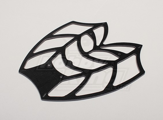 Hobbyking Y650 Scorpion Glass Fiber Top Frame Plate