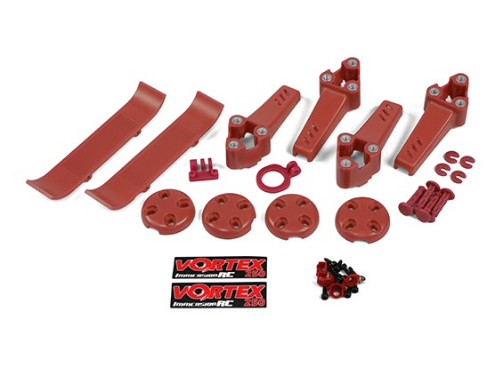 ImmersionRC - Vortex 250 PRO Pimp Kit (Red (Stock)