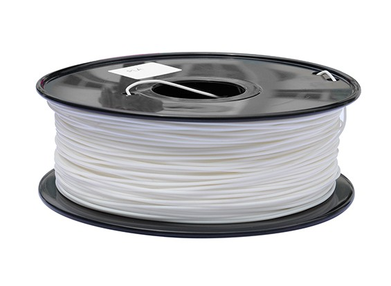 HobbyKing 3D Printer Filament 1.75mm PLA 1KG Spool (White)