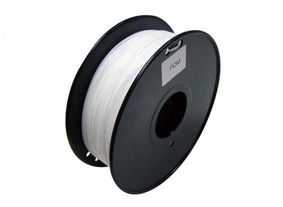 HobbyKing 3D Printer Filament 1.75mm POM 1.0KG Spool (White)