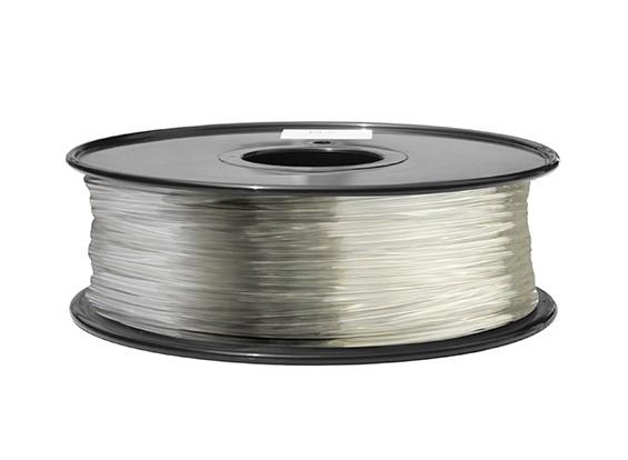 HobbyKing 3D Printer Filament 1.75mm ABS 1KG Spool (Clear)