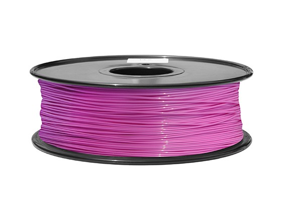 HobbyKing 3D Printer Filament 1.75mm ABS 1KG Spool (Pink P.232C)