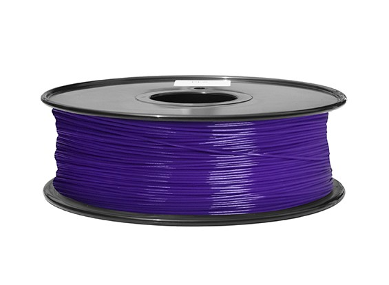 HobbyKing 3D Printer Filament 1.75mm ABS 1KG Spool (Purple P.2617C)