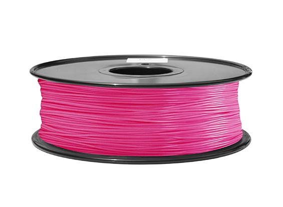 HobbyKing 3D Printer Filament 1.75mm ABS 1KG Spool (Pink P.213C)