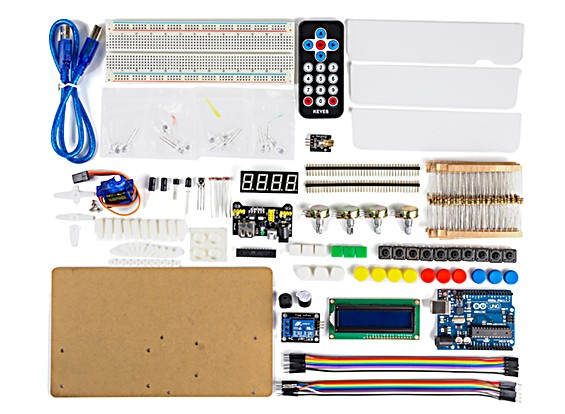 Arduino Intermediate Kit with IR Remote Control and Sound