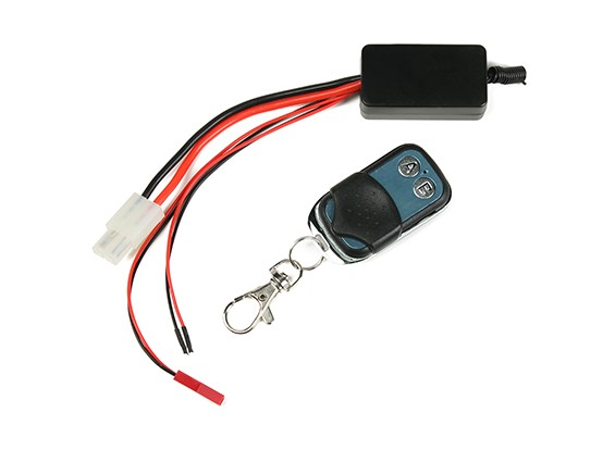 Wireless Remote Winch Controller with Wireless Receiver