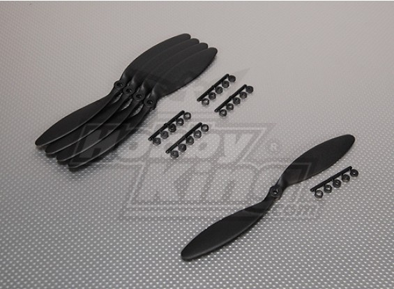 GWS Style Slowfly Propeller 9x3.8 Black (CCW) (5pcs)