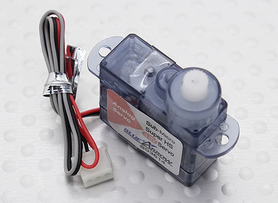 Single Cell High Speed Micro Servo 20T 0.18kg / 0.10sec / 3.9g