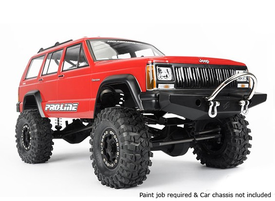 Pro-Line 1992 Jeep Cherokee Clear Body Shell for 1/10 Scale Crawlers
