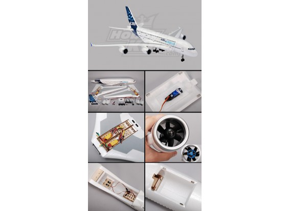 A380 Airbus R/C Plane EPO Plug-n-Fly (1520mm)