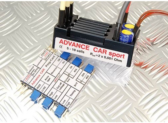 Jeti Advance Car Sport Brushless Speed Controller