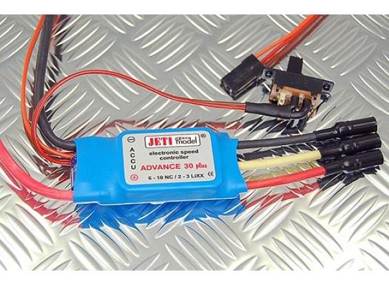 Jeti Advance Plus 30 Speed Controller 2-3S