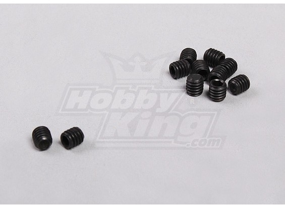 Grub Screws M3 (10pcs/bag) - 1/5 4WD Big Monster