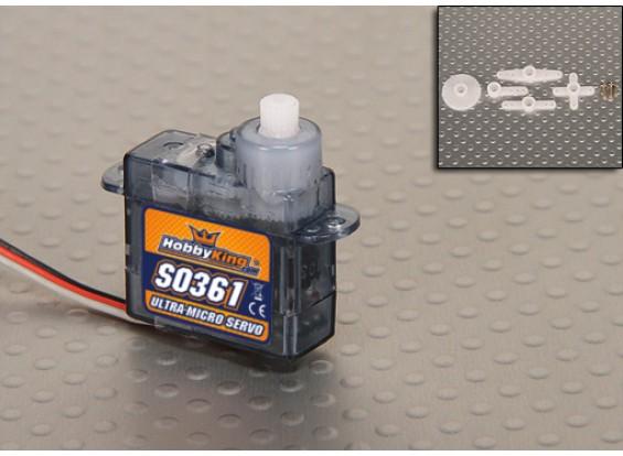 HobbyKing S0361 Micro Servo 20T 0.45kg / 0.12sec / 3.6g