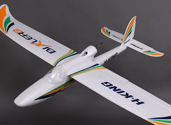 H-King Bixler 2 EPO 1500mm Ready to Fly w/Optional Flaps - Mode 2 (RT