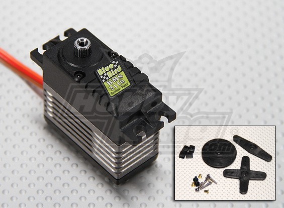 BMS-2110 HV Coreless Digital MG Servo (7.4V High Voltage) 66g / 0.09s / 28.3kg