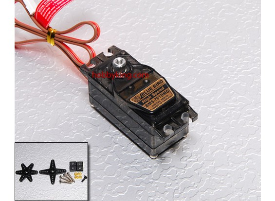BMS-761DMG Low Profile Digital Servo (Metal Gear) 4.4kg / .13sec / 32g