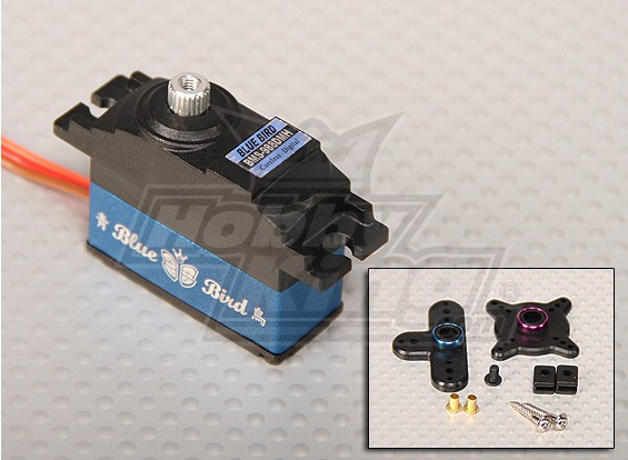 BMS-988DMH Servo High Performance Digital Servo 4.6kg / 0.11 sec / 30.5g