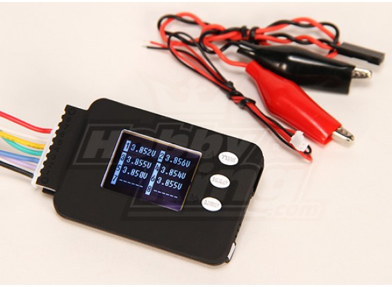 Cell-Log 8M Cell Voltage Monitor (2S-8S) Lipo