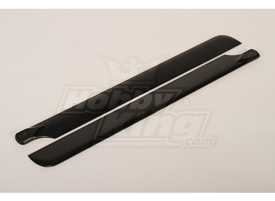 425mm Turnigy Carbon Fiber Main Blade (1pair)