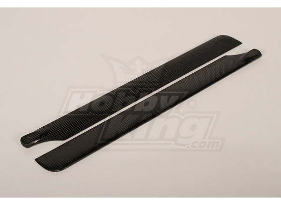 425mm Turnigy Carbon Fiber Main Blades (1pair)