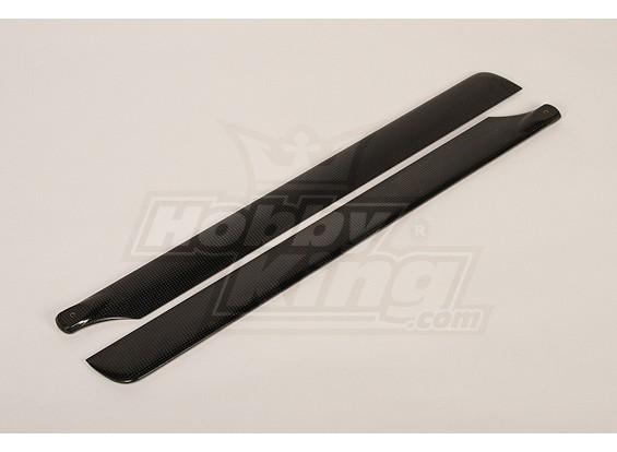 600mm Turnigy Carbon Fiber Main Blades