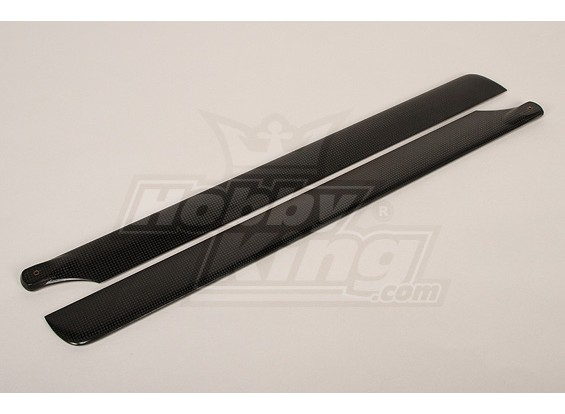 600mm Turnigy Carbon Fiber Main Blades