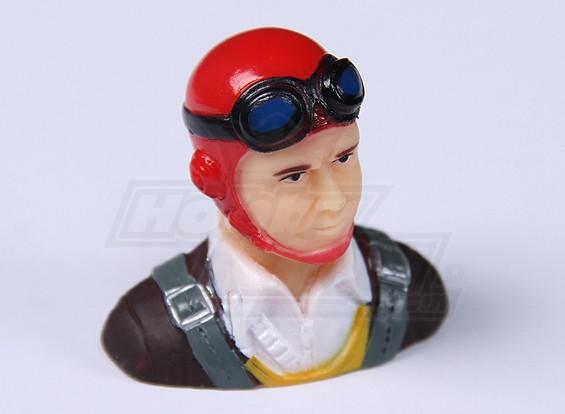 Parkfly Classic Era Pilot (Red) (H37 x W40 x D22mm)