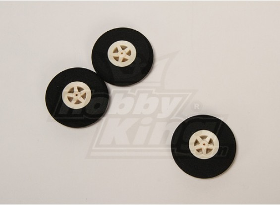 Super Light 5 Spoke Wheel D45xH10 (3pcs/bag)