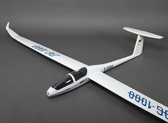 DG-1000 Fibreglass EP Scale Glider 2650mm (ARF)