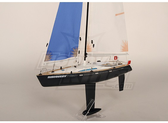 Discovery 500 RC Sailboat Almost Ready to Run