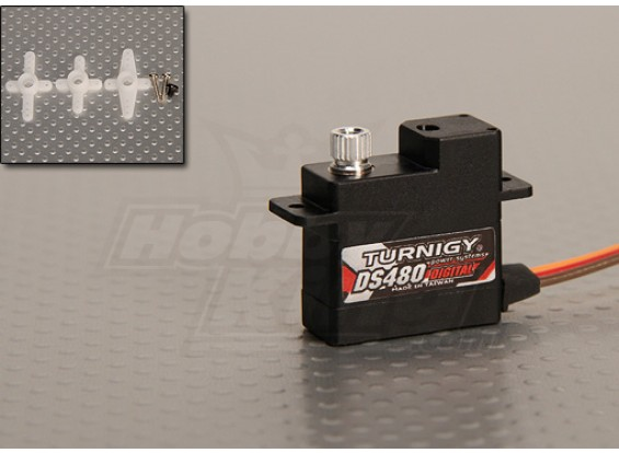 Turnigy DS480 Digital Servo 1.85kg / .068sec / 10.9g
