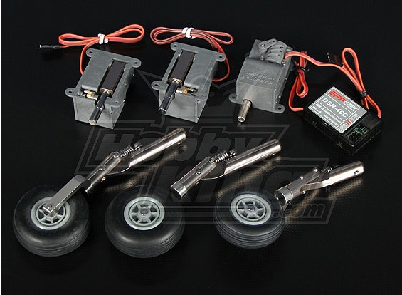 DSR-46TL Electric Trike Retract Set - Models up to 3.6kg